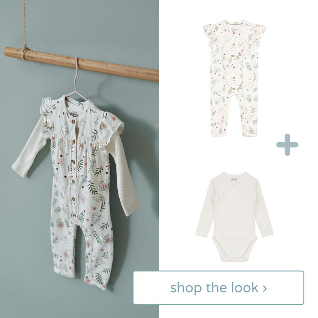 Shop the look - 1-delig pakje & romper -