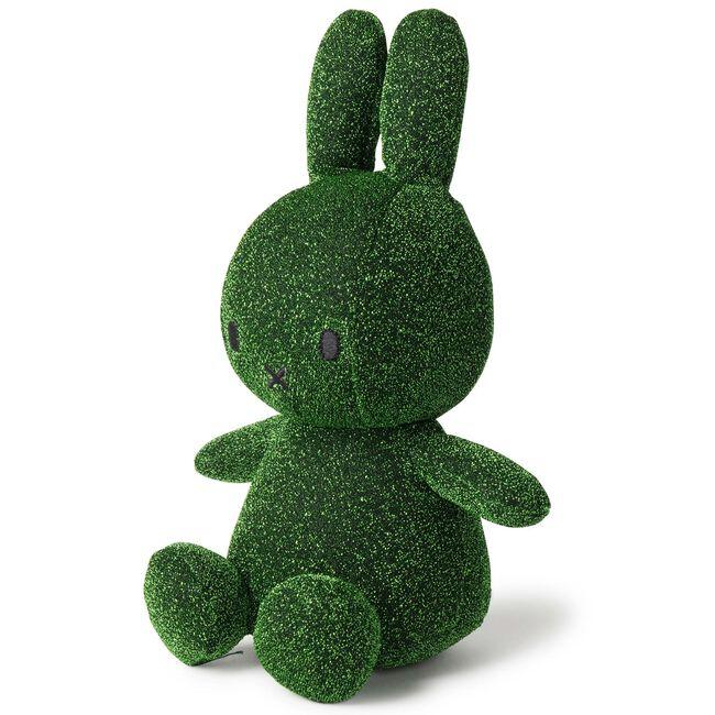 Nijntje knuffel glitter 23cm - Darkgreen