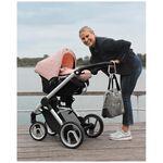 Dooky hoody zonnekap by Prenatal - Knitted Pink Star