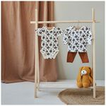 Prénatal peuter pyjama - Ivoor Wit