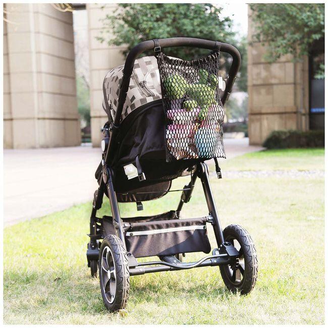 Prénatal boodschappennet buggy / kinderwagen universeel -