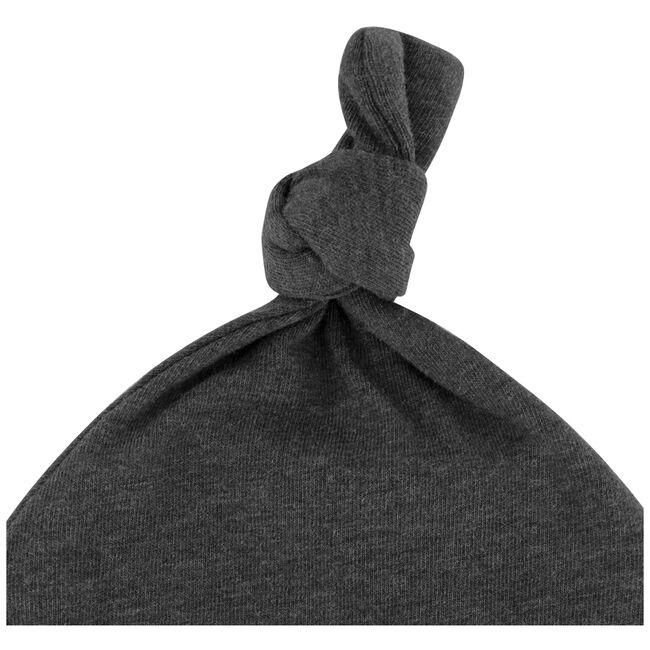 Prenatal newborn unisex muts - Deep Grey Melange