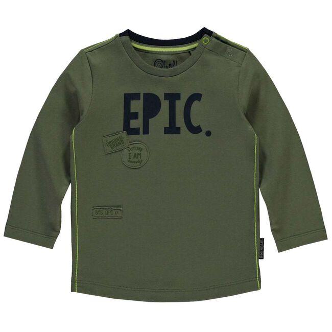Quapi jongens t-shirt - Khakigreen