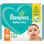 Pampers Baby-Dry carrypack - Multi