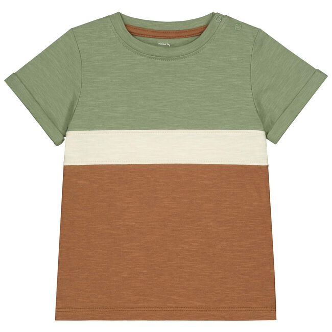 Prénatal peuter jongens t-shirt - Light Khaki Green