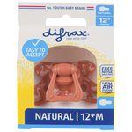 Difrax fopspeen natural 12+ maanden -
