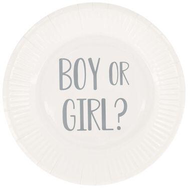 Prénatal bordjes boy or girl 8 st -