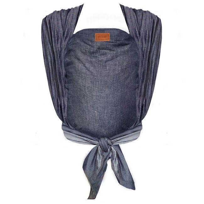 ByKay Woven Wrap Deluxe draagdoek - Dark Jeans