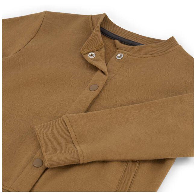 Prénatal peuter jongens vest - Brown Shade