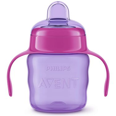 Philips Avent tuitbeker 200ml 6m+ - Purple