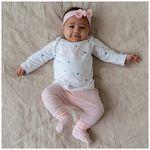Prénatal newborn basic broekje - Skin Piink