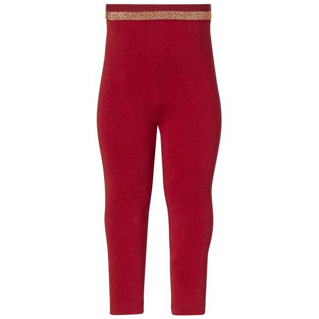 Quapi peuter meisjes legging - Red