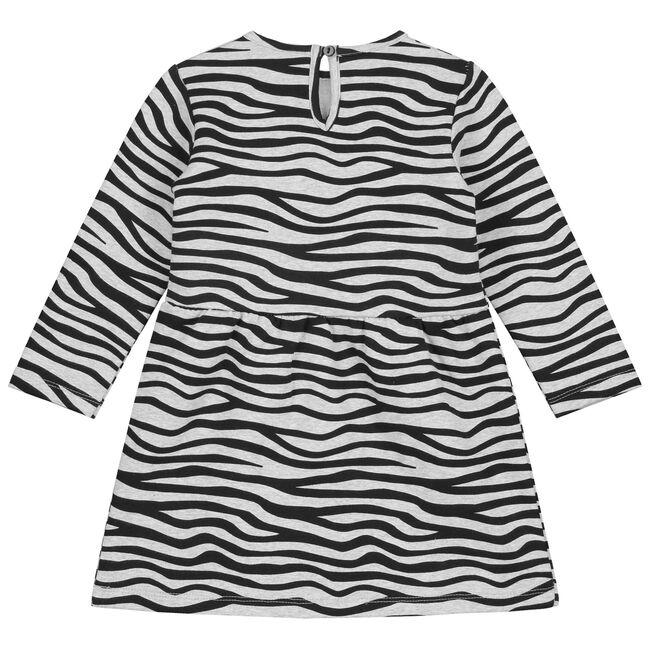 Prénatal baby meisjes jurk - Mid Grey Melange
