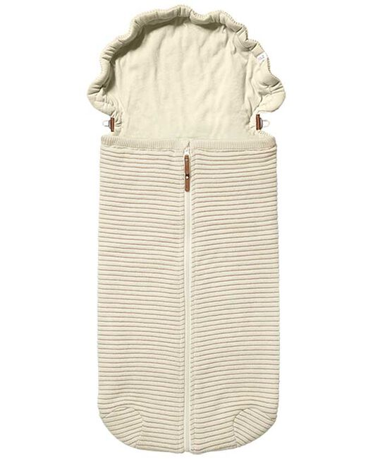 Joolz Essentials Ribbed Nest - Off-White