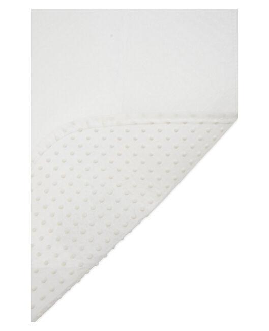 Prénatal matrasbeschermer ledikant met noppen - White