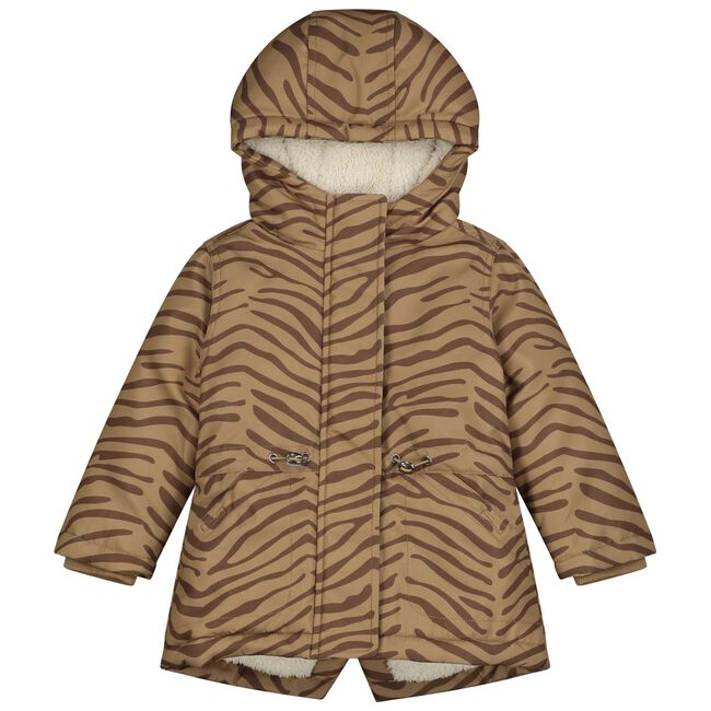 Prenatal peuter meisjes jas - Dark Sand Brown