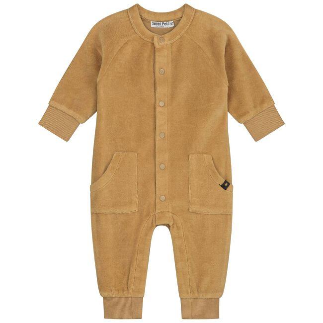 Sweet Petit baby jongens ééndelig pak Sebas - Yellow Brown