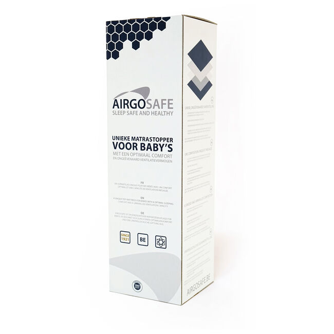 Airgosafe topper 60 x 120 cm -