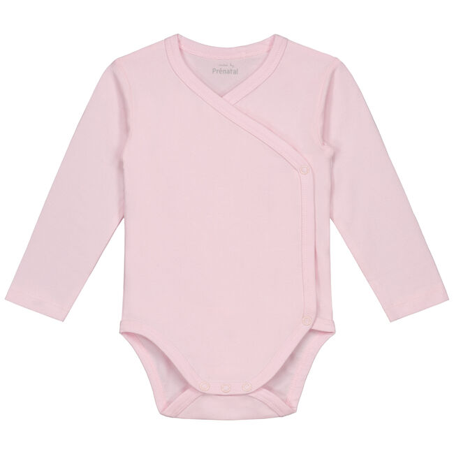 Prénatal basis overslag romper - Light Rosered