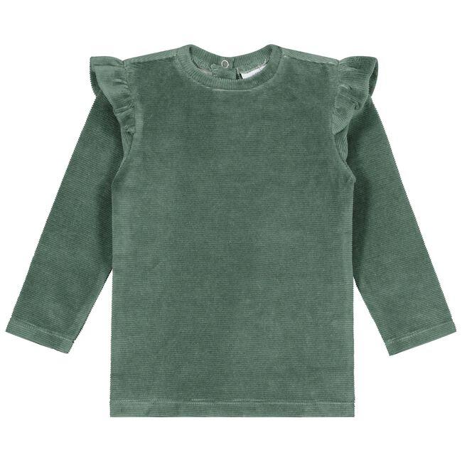 Prénatal baby meisjes T-shirt - Light  Bottle Green