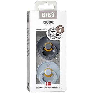 Bibs fopspeentje Size 3 - Irone/ Baby Blue