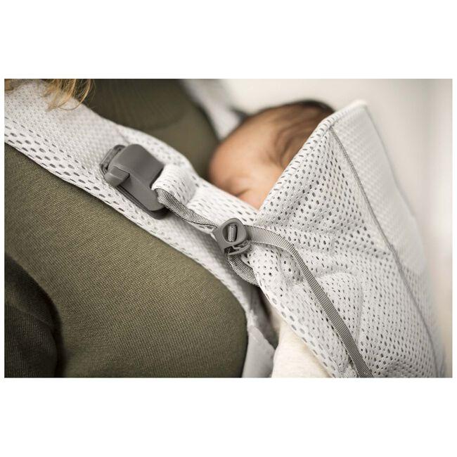 BabyBjörn One Air draagzak - Silver