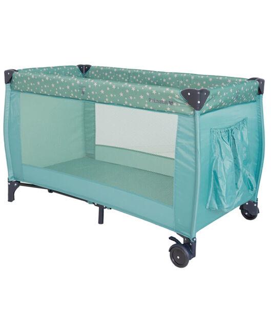 Campingbedje Prenatal Groen.Prenatal Campingbed Mint