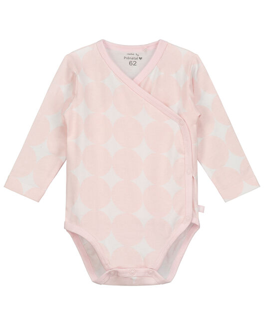 Prenatal meisjes overslag romper - Light Rosered