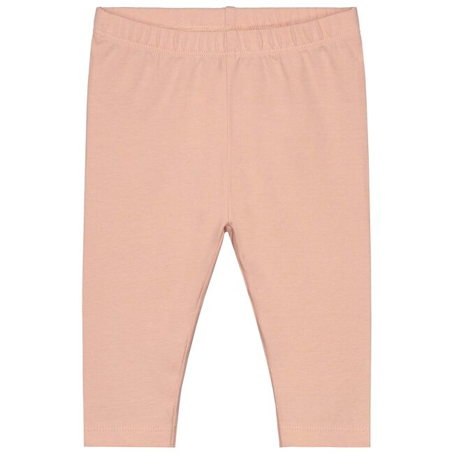 Prenatal baby meisjes legging - Dark Peach Pink