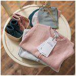 Prénatal newborn unisex broekje - Soft Grey Melange