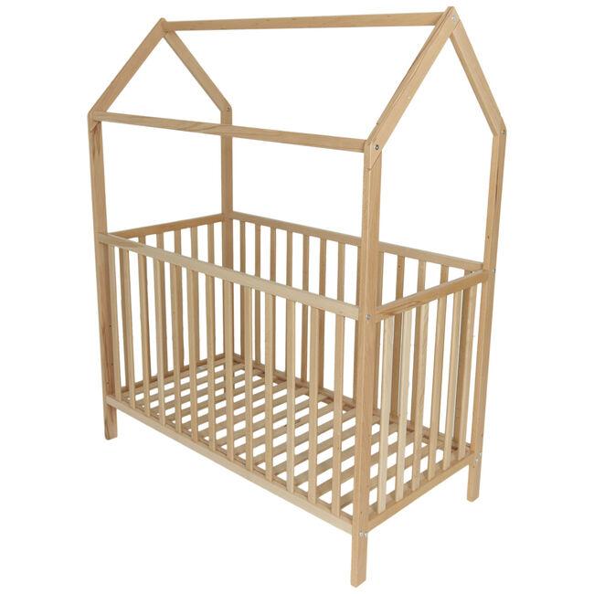 Prenatal ledikant huisje 60x120 cm -