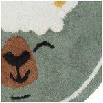 Prénatal vloerkleed lama - Light  Greenshade