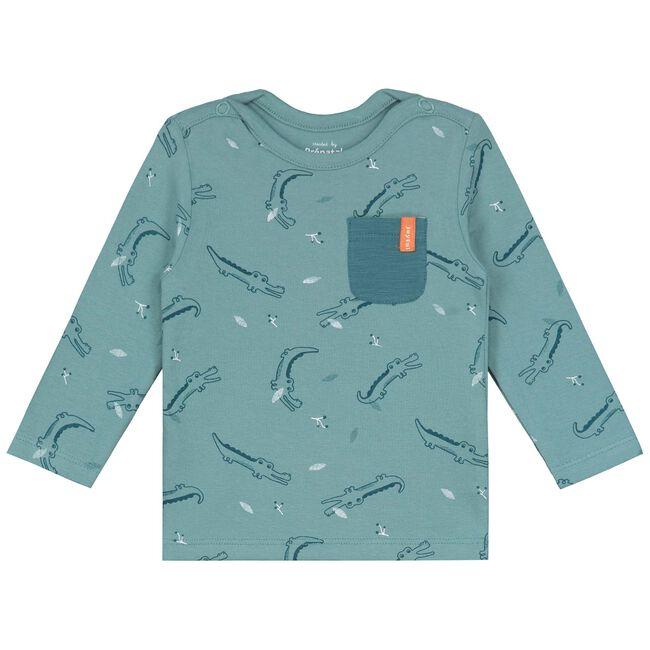 Prénatal newborn jongens shirtje - Dark Aqua