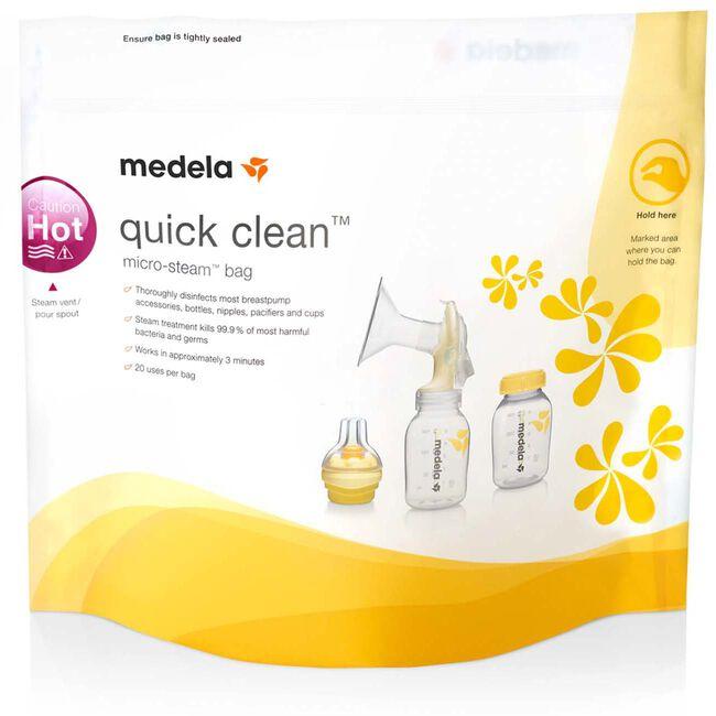Medela QuickClean magnetronzakken - Geen Kleurcode