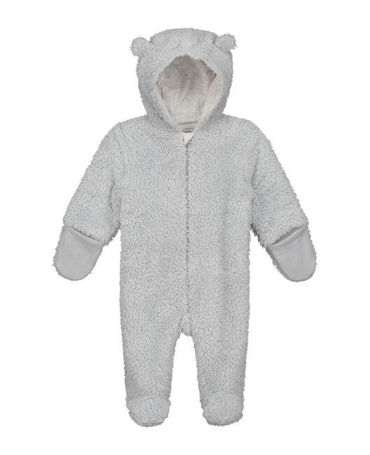 Prenatal newborn unisex berenpakje - Grey Shade