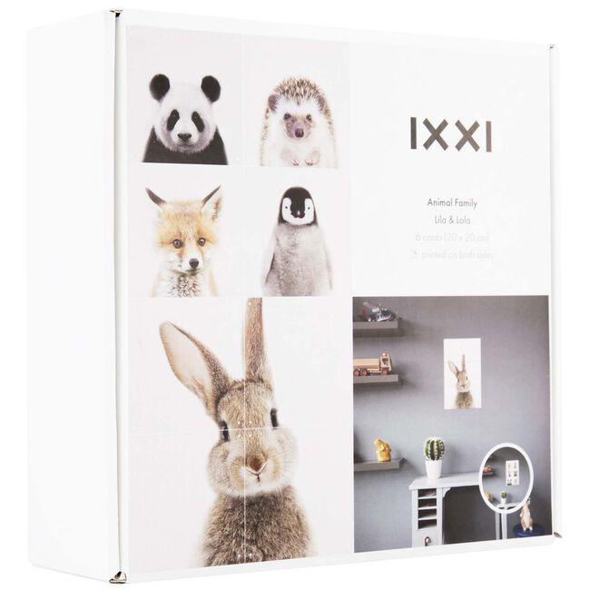 IXXI Animal Family Lila Lola dubbelzijdig - Multi