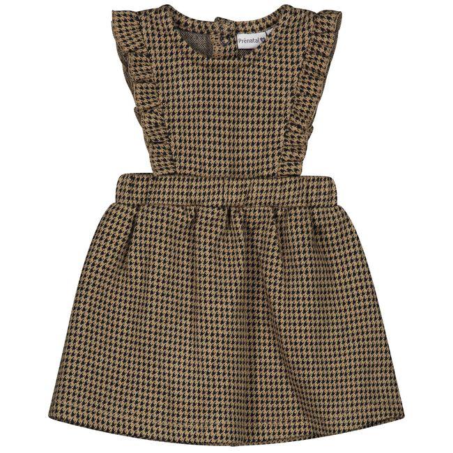 Prenatal baby meisjes jurk - Light Taupe Brown