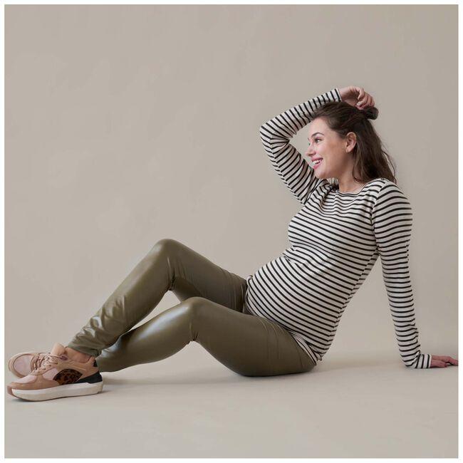 Prénatal zwangerschapsshirt - Dark Olive Green