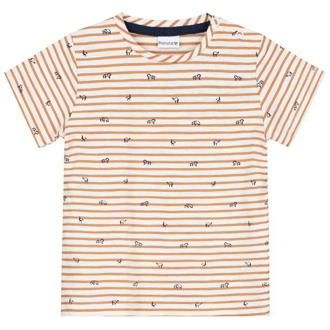Prénatal peuter jongens t-shirt - Light Brownshade