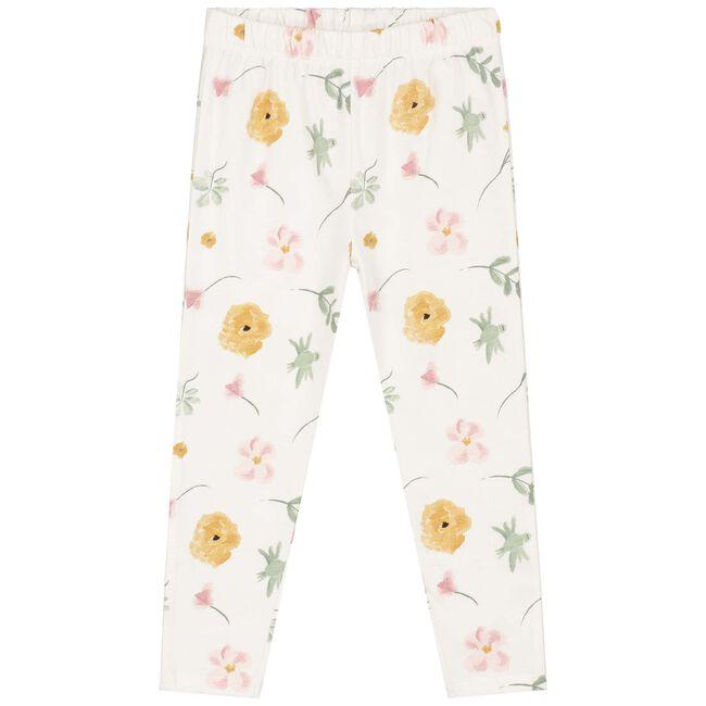 Prénatal peuter meisjes pyjama - Ivoor Wit