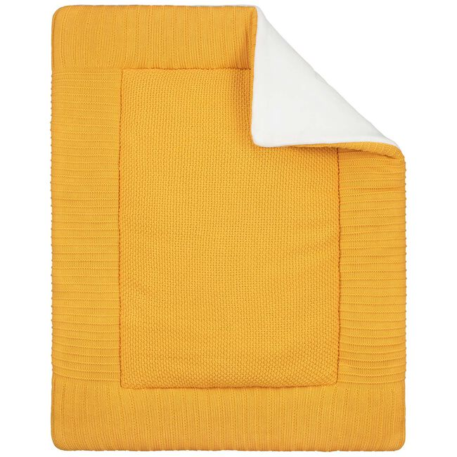 Prénatal boxkleed gebreid geel - Geen Kleurcode