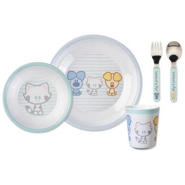 Woezel & Pip baby eetset 5-delig -