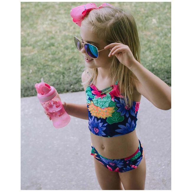 Nuby Flip-it rietjesbeker 18+ maanden - Pink