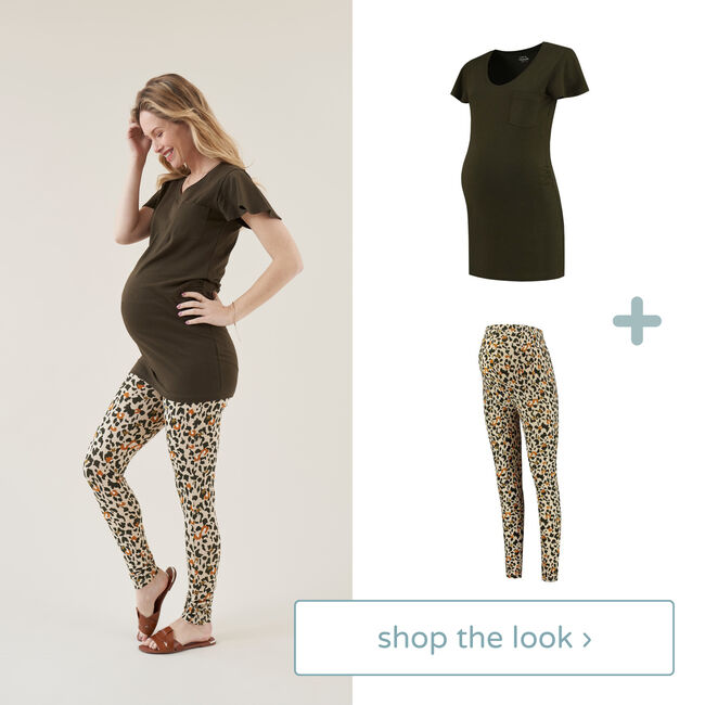 Shop the look - tregging & T-shirt -