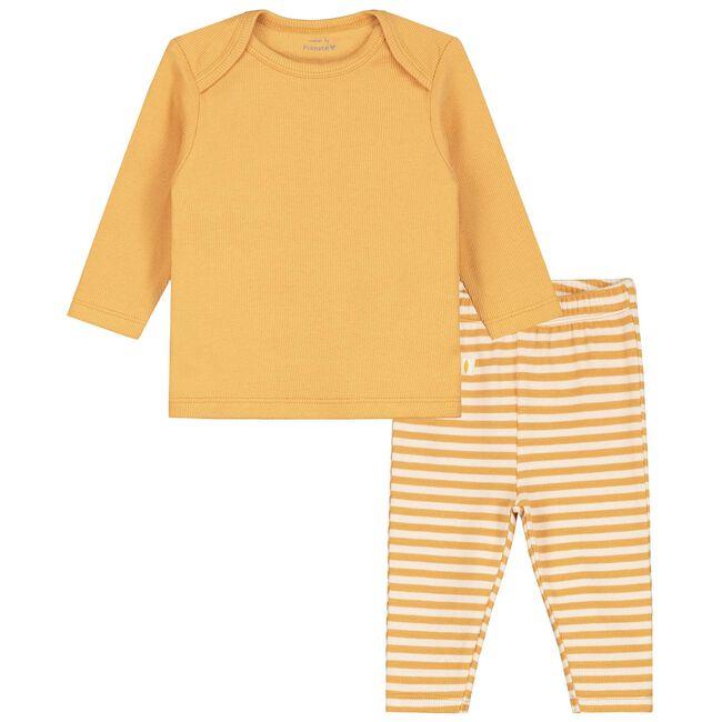 Prénatal unisex baby pyjama - Light Yellow Brown