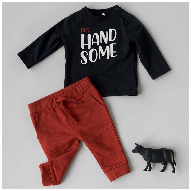 Prénatal peuter shirt Mr. Handsome -
