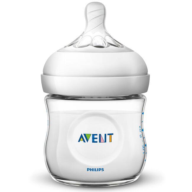 Philips Avent Natural fles 125ml - SCF030/17 - Onbehandeld/Naturel