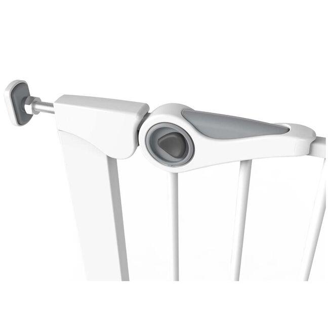 Noma klemhekje metaal verstelbare breedte 75-82 cm - White