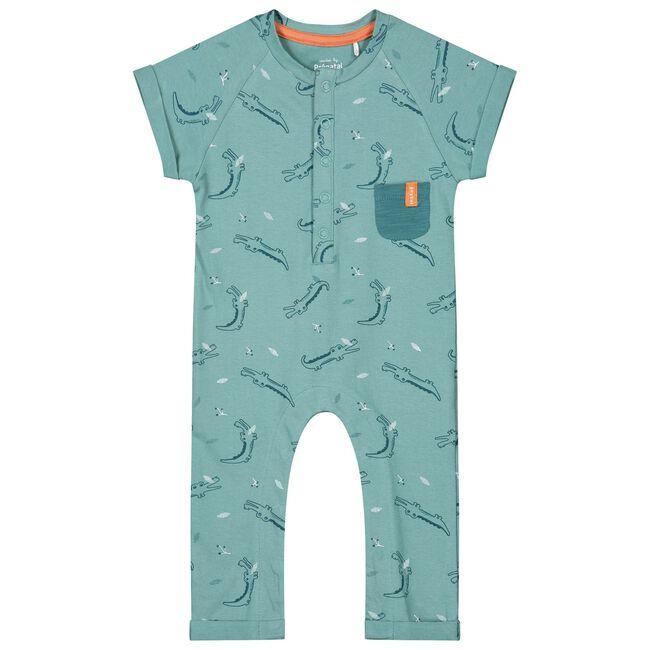 Prénatal newborn jongens 1-delig pakje - Dark Aqua