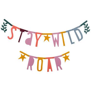 A Little Lovely Company letterslinger / letter banner - Multi